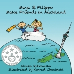 Maya and Filippo Make Friends in Auckland