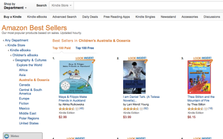 Hitting #1 on Amazon