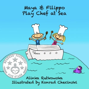 Maya & Filippo Play Chef at Sea