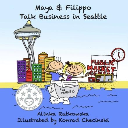 Maya & Filippo Talk Business inSeattle
